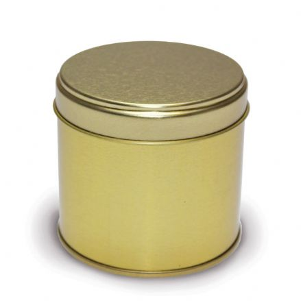 Candle Tins - Medium Travel Gold